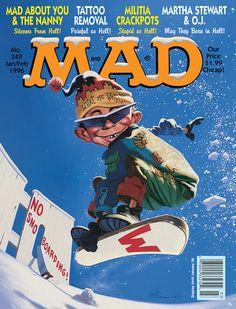 Mad Magazine: Snowboarding