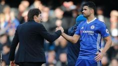 Problems between Costa and Chelsea surfaced earlier in the year when he was dropped after a dispute with a fitness coach  Striker Diego Costa has completed his move back to Atletico Madrid from Premier League champions Chelsea.  The two clubs agreed terms last week and the 28-year-old Spain international passed his medical on Monday. However he cannot be registered to play for the La Liga side until 1 January when the club's transfer window ban comes to an end. Costa left Atletico for…