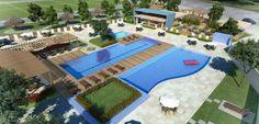 Riverside Pirambu - Condomínio fechado de lotes com área total de aproximadamente 151.000m² possuirá 302 lotes com áreas de 272,40m² a 628,07m², área de lazer completa e 29.734,00m² de área verde - Immobile Arquitetura