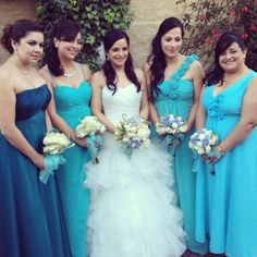 With my Bridesmaids!