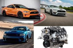 Muscle Car Roundup: New Cars and Engines Best Muscle Cars, Dodge Challenger, Engineering, Vehicles, Stuff To Buy, Mechanical Engineering, Architectural Engineering, Vehicle