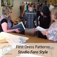 Make your First Dress Patterns 'Studio Faro Style' THURS 20 APRIL https://weteachme.com/1023552-studiofaro/1010399-basic-pattern-making-dresses-introductory?iframe=true&teaching_id=142018 #PatternMakingClasses #Sydney #DressPatterns
