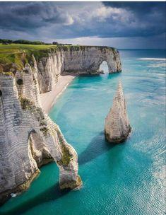 Beach Adventure, Adventure Travel, Beach Trip, Vacation Trips, Vacations To Go, Vacation Travel, Beach Travel, Summer Travel, Etretat France