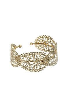 Limited Edition Paisley Filigree Cuff Bracelet
