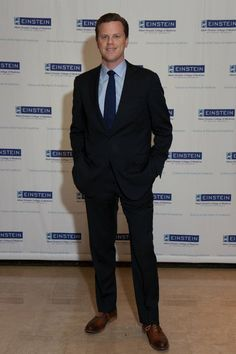 MSNBC's Willie Geist served as emcee at Einstein's 58th Annual Spirit of Achievement Luncheon.