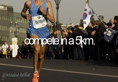 """I've done many 5km races....but the one on my bucket list is """"Run to Wrigley""""....baseball related, of course ;-)"""