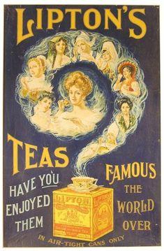 Старинная реклама и винтажная упаковка чая. Обсуждение на LiveInternet - Российский Сервис Онлайн-Дневников