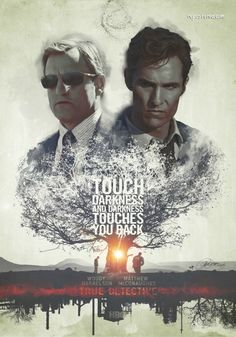 Alternative movie poster for True Detective, made by Laura Racero