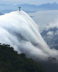 Clouds, Christ, Rio
