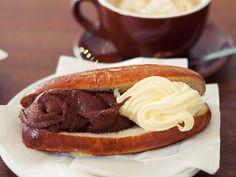 Brioche Con Gelato (Ice Cream Sammich) at Pitango Gelato, Washington, D.C.