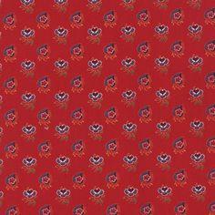 A La Carte - Medium Floral in Red (21663 12)  // Moda Fabrics at Juberry