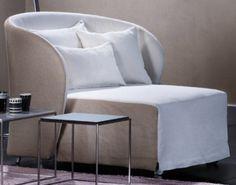 Céline bed/armchair-chaise loungue by Riccardo Giovanetti for #Flou #livingroom…