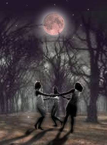 What are they so happy about? Are they going to transform tonight, under the moon? Moon Shadow, Nocturne, Fantasy Magic, Dancing In The Moonlight, Moon Dance, Moon Pictures, Moon Photos, Under The Moon, Moon Magic