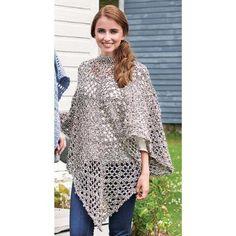 Herrschners® Ragg Poncho Crochet Yarn Kit