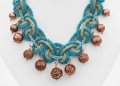 How to make a Zari Rope Necklace - Jewellery Making Hints and Tips Rope Necklace, Crochet Necklace, Jewelry Necklaces, Jewelry Making Tutorials, Jewellery Making, Turquoise Necklace, Create, Jewelry, Jewelry Making