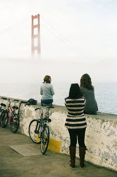 Biking to the Golden Gate