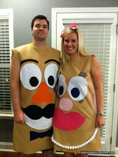 Mr. and Mrs. Potato Head - Halloween Costumes 2013