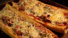 Quick dinner - French Bread Pizza
