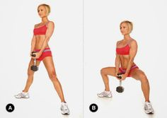 5 Exercises For Toned Legs! Using just your body weight or dumbbells! Get ready for short season with these 5 leg exercises!