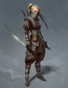 Fuck Yeah Warrior Women, scifi-fantasy-horror:     byMagnus Norén