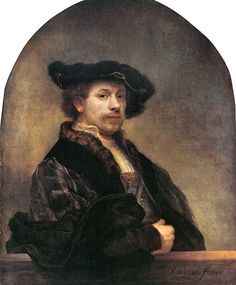 Self-portrait at 34. 1640  Clothing depicted is actually from the period a century before this painting.