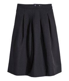 Crinkled skirt | H&M DK