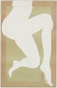 """Big Nudes  Milton Glaser (American, born 1929)    1968. Offset lithograph, 24 3/8 x 37 1/4"""" (62 x 94.6 cm). Gift of Push Pin Studios"""