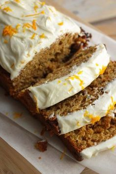 Sinaasappel courgette cake
