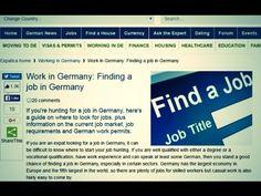 Trabalhar na Alemanha - Um Ótimo Site para encontrar Emprego - YouTube