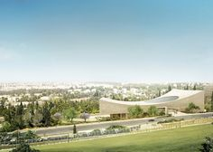Herzog & de Meuron new images of National library of Israel