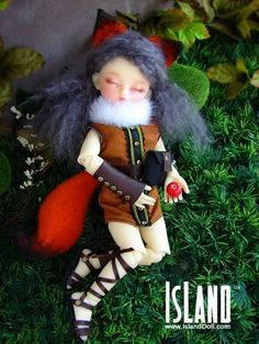 Dafne, 26cm Island Doll (First Island) Girl - BJD Dolls, Accessories - Alice's Collections