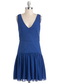 Waterfall for Fashion Dress, #ModCloth- Love this dress!!