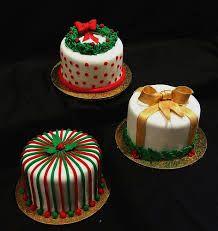 Resultado de imagen para christmas mini cakes