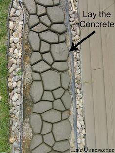 Life Unexpected: DIY Stepping Stone Pathway