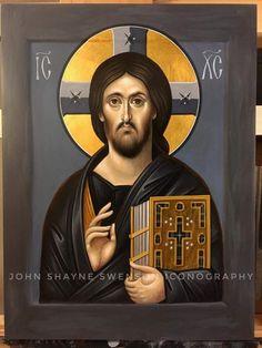 Byzantine Icons, Byzantine Art, Religious Icons, Religious Art, Christus Pantokrator, Mary And Jesus, Catholic Art, Orthodox Icons, Christian Art