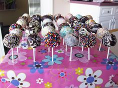 Easy Cake Pop Designs | Cake Pops: i lecca lecca di torta, che trendy!!