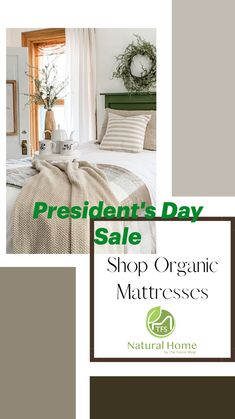 Presidents Day Sale, Eco Friendly House, New Trends, Home Interior Design, Mattress, Organic, News, Inspiration