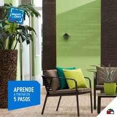 ¡No tengas miedo y empieza a pintar tus ambientes según tu estilo! #Sodimac #Homecenter #decoración #ideas #inspiración #casa #hogar #pinturas #ambientes #ManosAlaObra #DIY #inspiration #homedecor