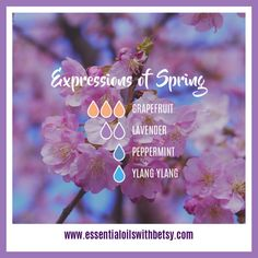Would you like some new Spring diffuser blends? My collection of spring oil blends for the diffuser is beautifully fragrant. Click here and enjoy!