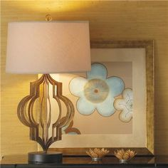 This lamp from shades of light is so tempting...gorgeous!