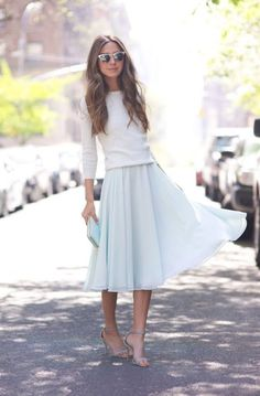 Chic And Modest Look 2017 Street Style