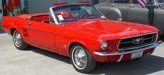 1967 Mustang convertible...wheeeeeee!