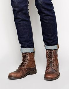 River Island Military Boots