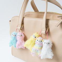 Rainbow Alpacasso Plushies (Mini Strap) [Pre-order]