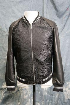 Mens un-worn designer bomber jacket by Alexander McQueen 38/40 chest,