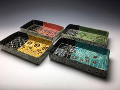 Sgraffito, Texture, Velvet Underglazes, cone 5/6 Sgraffito, Ceramic Art, Decorative Boxes, Velvet, Ceramics, Texture, Home Decor, Ceramica, Surface Finish