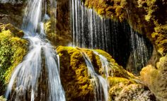 Wasserfall Dreimühlen in der Eifel