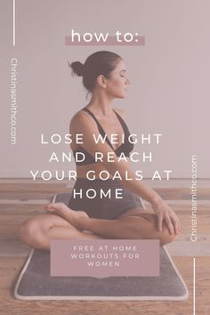 Ready to level up your at home fitness plan? Check out my FREE at home workout guide! Includes a weeks worth of workouts, at home workouts minimal equipment, recipe ideas, macro friendly recipes, and more, all for FREE! My name is Christina Smith, owner of Christinasmithco.com, a website on a mission to teach fitness tips, workout tips, health tips, fitness journey tips, how to live a healthy lifestyle and all things wellness! Get your FREE at home workouts for women and home fitness ideas! Fitness Plan, Health And Fitness Tips, Health Tips, Free Workout Plans, Workout Guide, At Home Workouts For Women, Weight Loss Tips, How To Lose Weight Fast, Recipe Ideas