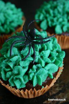 Chokoladecupcakes with gum frosting!