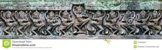 Image from http://thumbs.dreamstime.com/z/ancient-khmer-laterite-stone-carving-apsara-arts-architecture-lintel-temple-wall-prasat-praeh-khan-42485834.jpg.